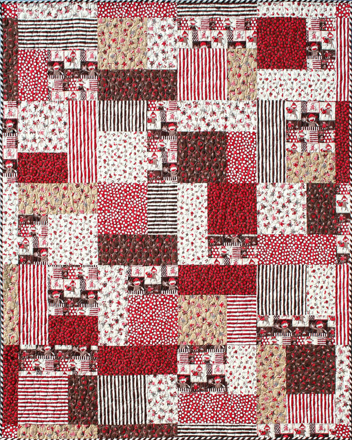 FriendFolks. Turning Twenty. Quilt patterns and fabrics by Tricia Cribbs