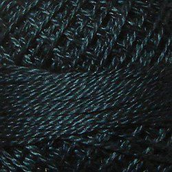 Valdani Thread 42<br>Deep Blue Teal<br>Size 12<br>