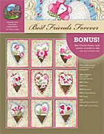 Best Friends Forever Machine Embroidery CD<br>