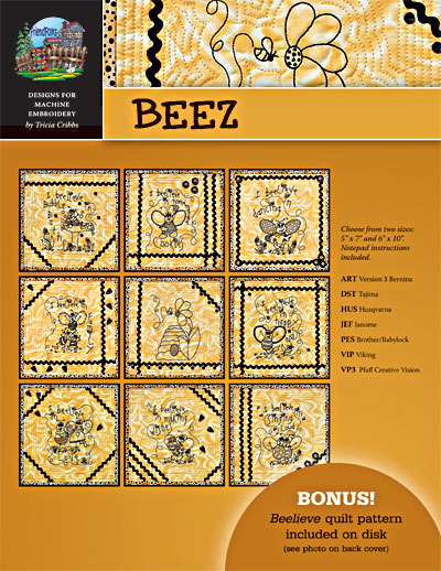 BeeZ Machine Embroidery CD<br>