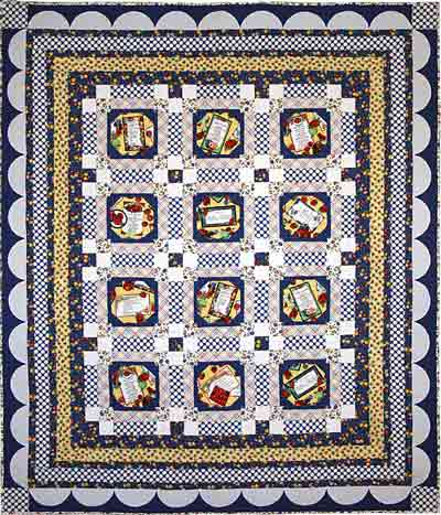 Blue Plate Special Quilt