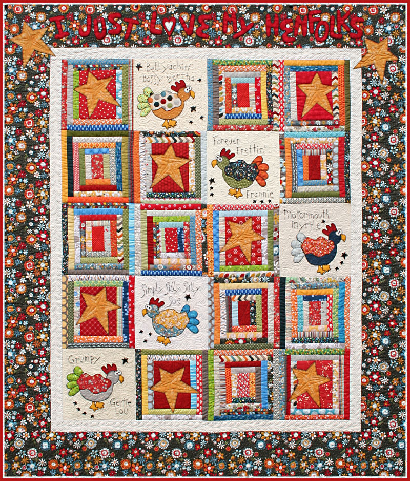 Henfolks Fabric Kit<br>For Hand Pattern<br><br>