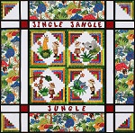 Jingle Jangle Jungle Bundle<br><font color=red>Includes Pattern and Border Fabric</font><br>