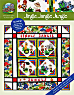 Jingle Jangle Jungle Quilt Pattern<br>
