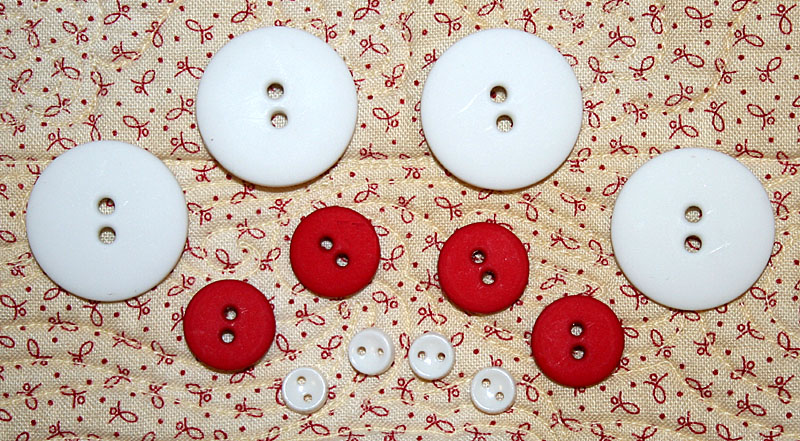 Jolly Jingle Olde Kris Kringle Button Pack<br>