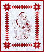 Jolly Jingle Olde Kris Kringle Fabric Kit<br><font color=red>Includes Pattern</font><br>
