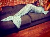 Crocheted Mermaid Tail<br><br><font color=blue>Click to see all colors available<br></font>