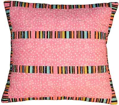 Groovy Stripe Pillow