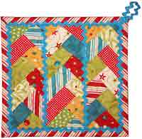 Triple Braid Potholder