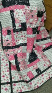 Princess Kit<br>includes backing and binding<br>Kits makes Gimme 5 and Supersize Quilt<br><br>