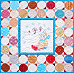 Sugar Dumplin January Kit<br>Precut<br>