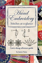 Hand Embroidery Pocket Guide<br>Stitches at-a-glance<br>