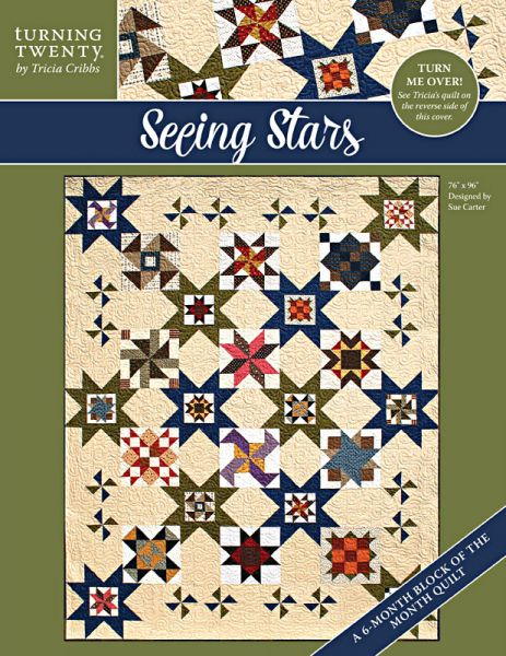 <font color=red>NEW!</font><br>Seeing Stars<br>Designed by Sue Carter for Turning Twenty<br>