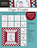 Sugar Dumplin&#8242; Collection Machine Embroidery CD<br>
