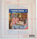 Turning Twenty<br>Around the Block Template<br>