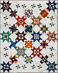 Seeing Stars<br>Precut ReadyTo Sew Kaffe Kit<br>Includes all 12 blocks<br><br>