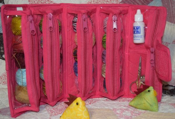 Yazzii Roll Up Bag<br>Small<br>Punch Pink<br><br>