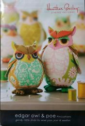 Edgar Owl and Poe<br>Pincushion Patterns<br><br>