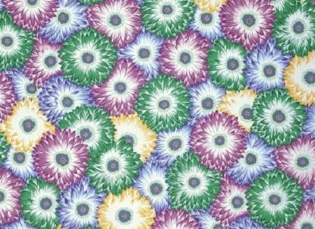 Floating World Chrysanthemum Carpet Serenity By Snow