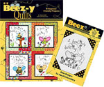 E-Z Beez-y Quilts Book (Beez hand embroidery pattern included)