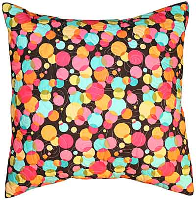 Groovy Fat Quarter Pillow