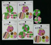 Button Sensations<br>Pinks<br>17 large buttons<br>