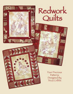 Redwork Quilts (Book #1) Hand Embroidery<br>