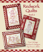 Redwork Quilts (Book #2) Hand Embroidery<br>