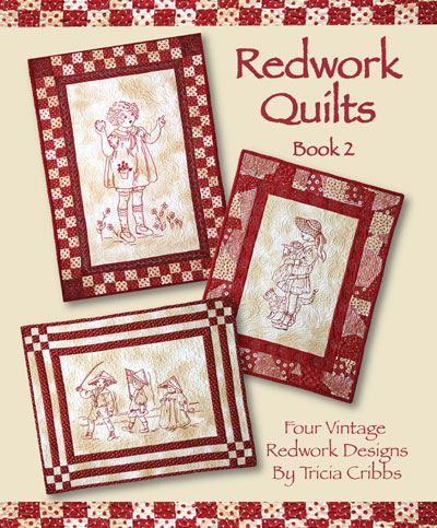Redwork Quilts (Book #2)