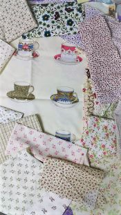 Large Cuts - Lots of fabric
