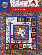 Texas Pattern Hand Embroidery<br>