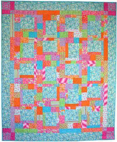 Bright Flowers Quilt